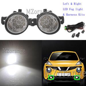 LED Fog Light Lamp Wire Harness For Nissan Altima Sentra Juke NV3500 Versa Micra