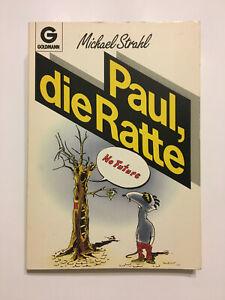 Michael Strahl: Paul die Ratte, Comic Taschenbuch, 1986, guter Zustand