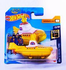 Hot Wheels 1/64 3 inch The Beatles Yellow Submarine Treasure Hunt '20