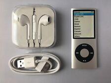 Apple iPod nano 4th Generation Silver (16GB) mint