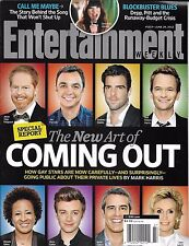 Entertainment Weekly Magazine Hollywood Coming Out Gay Emma Stone Mark Duplass