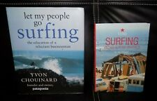 Set of 2 SURFING Books - Let my People go Surfing & Vintage Surfing Graphics !