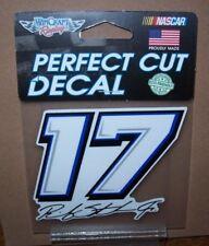 RICKY STENHOUSE JR #17 PERFECT CUT DECAL WINCRAFT 4X4 DECAL STICKER