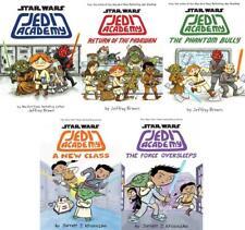 Star Wars JEDI ACADEMY Children's Sci Fi Comics Series HARDCOVER Collection 1-5