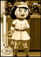 Rosie Red 2020 Topps Opening Day Mascots 5x7 Gold #M-10 /10 Reds