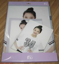 f(x) FX SMTOWN COEX Artium OFFICIAL GOODS SULLI STATIONERY SET SEALED