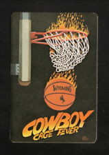 Wyoming Cowboys--1989-90 Basketball Pocket Schedule--Pepsi