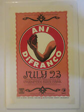 Ani Difranco Mike King Gary Houston Super Rare Lithograph 1997