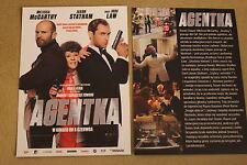 Spy (2015) Melissa McCarthy, Jude Law, Jason Statham - Polish promo FLYER