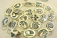 """15+ozt HOPI signed CASEY CUCH 21 unique link CONCHO BELT Sterling Silver 50"""" max"""
