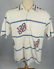 Vintage Nautica Polo Sailing Racing Shirt Color Block 90s Usa Hip Hop Surf L