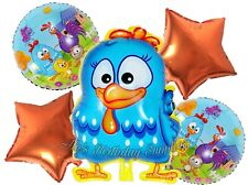 (5) Pc Gallina Pintadita Galinha Pintadinha Balloons Party Birthday Supplies