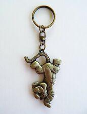 Disney - Winnie the Pooh - Tigger Brass Keychain/Keyring