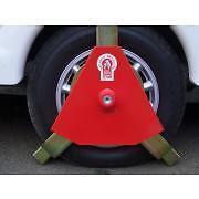 """Rimorchio sicurezza-Bulldog TITAN Wheel Clamp 14"""" -15"""" ruote-cerchi in lega 230/F"""