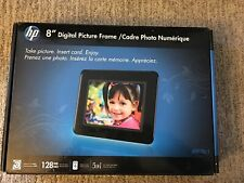 HP 8 Inch Digital Photo Picture Frame for Memory Storage Brand New