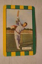 1953 - Vintage - Coles Cricket Card - Australian Cricketers - Neil Harvey