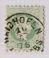 "AUTRICHE / AUSTRIA 1876 "" WAIDHOFEN / A/D YBBS "" (gEj Klein 5584b) /Mi.36.I"