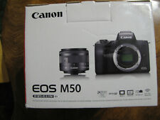 Canon EOS M50 Mirrorless Camera Kit with EF-M 15-45mm f/3.5-6.3 IS STM Zoom...