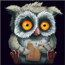 5D DIY Animal Owl Diamond Embroidery Cross Stitch Picture rhinestone Mosaic Kits