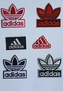 Adidas Original Logo Sports Badge Iron Sew On Embroidered Patch For Clothes etc