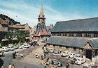 HONFLEUR 56 église et clocher sainte-catherine voitures