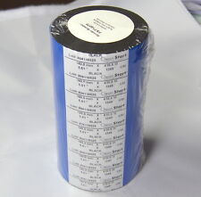 SATO Printer FST14075 Black Wax Ribbon 140mm x 410m (GP725 Wax) 6 Pack