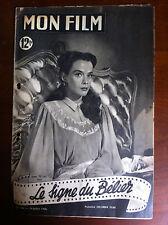 """>Mon Film n°204 du 19/07/1950 """"Le signe du bélier"""" Susan Peters"""