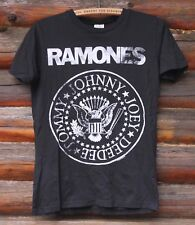 Ramones Johnny Joey DeeDee Tommy Adult T-Shirt Officially Licensed Rock Small