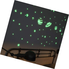 Glow In The Dark Stars Stickers and Planets Supernova: 8 and 40 Ceiling - 3D Pla