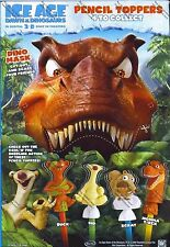 2009 MOMMA T-REX ICE AGE 3 D Dawn of the Dinosaurs Pencil Toppers cereal box toy