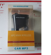 NEW MP3 WMA WIRELESS FM Modulator LCD Display with remote Control