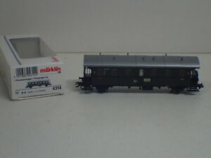 Märklin H0 4314 Personenwagen Donnerbüchse 2. Klasse der DB   TOP in OVP