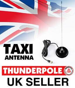 Thunderpole Taxi Radio Antenna Mag Kit    VHF Whip Aerial Mag 4m lead PL259 Plug