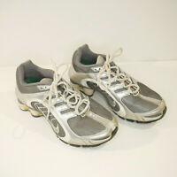 Womens NIKE Shox Navina Running Shoes Silver  SZ 6.5 337775-001 Nurse Gym Work