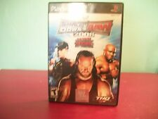 PlayStation 2 Smack Down VS Raw 2008 Game