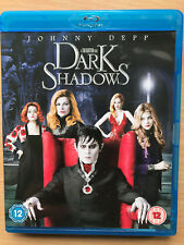 Johnny Depp Dark Shadows 2012 Gótico Horror Comedia Gb Blu-Ray