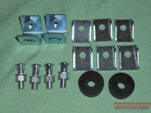 Front Bumper, Fitting Kit, MG MGB, MGC & MG GT's 62-75