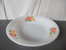 Vintage Plat Creux Arcopal motif Fleurs