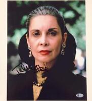 TALIA SHIRE Autograph Signed 11x14 Photo ~ BAS Beckett COA ~ ROCKY The Godfather