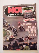 Moto Journal Mai 1978 N°363 Dossier 1000 Kawasaki