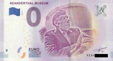0 Euro Schein - Neanderthal Museum 2018 2 Souvenirschein