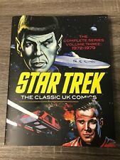 STAR TREK: THE CLASSIC UK COMICS, VOL. 3 : 1972 - 1979 : BRAND NEW HARDCOVER