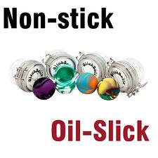 Oil Slick  2 inch Ball non stick Silicone Concentrate Container by Oil Slick