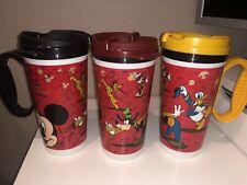 Walt Disney World Refillable Mug / Travel Cup X3