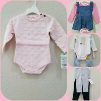 CAT & JACK Baby Girls Outfit lot of 7 items Size 6 - 12 Month**Great Variety*NWT
