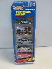 Hot Wheels 5 Car Gift Pack Powershift Garage w Police