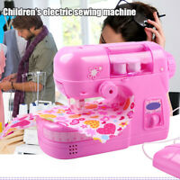 Electric Small Sewing Machine Educational Toys Creative Set Kids Children Gifts