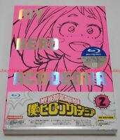 New Boku no My Hero Academia Vol.2 Limited Edition Blu-ray CD Booklet Card Japan