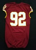 #92 of Washington Redskins NFL Locker Room Game Issued No Nameplate Jersey
