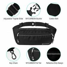 Bum Bag Large Capacity,Travel Waist Pack,Non-slip Cotton Belt Waist Bag